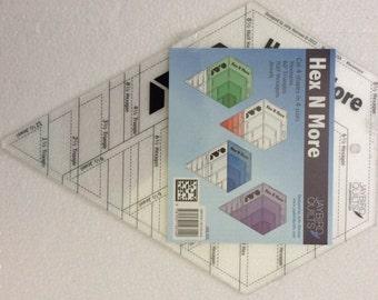Ruler - Hex N More - Julie Herman - Jaybird Quilts - JBQ 201