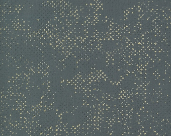 1/2 Yard - Dance in Paris - Spotted - Lead - Zen Chic - Brigitte Heitland - Moda - Fabric Yardage - 1660 158M
