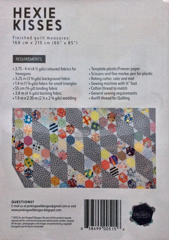 Sew Easy Patchwork Quilt Template Printed Plastic