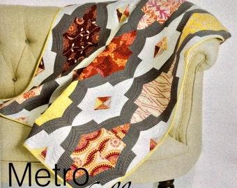 Metro Medallion Quilt Pattern - Sew Kind of Wonderful - SKW 406 - QCR Pattern