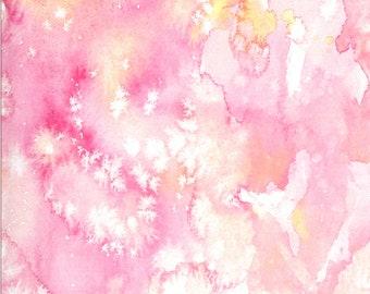 SALE!! 1/2 Yard - Moody Bloom Digital - Fuchsia - Create Joy Project - Laura Muir - Moda - Fabric Yardage - 8433 21D