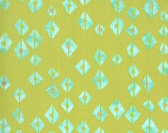 1/2 Yard - Dance in Paris - Chartreuse - Zen Chic - Brigitte Heitland - Moda - Fabric Yardage - 1742 14M