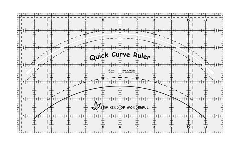 Ruler  Quick Curve  Sew Kind of Wonderful image 0