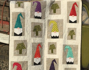 A Tale of Two Gnomes Quilt Pattern - Cotton Street Commons - CSC 207