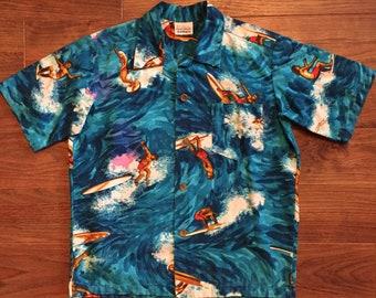 d2b452c1 Surf Line Hawaii Hawaiian Shirt Size Medium
