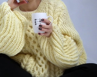 ad1054695 Cable Knit Sweater