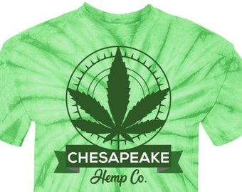 Chesapeake Hemp Cotton Tie Dye T-Shirt