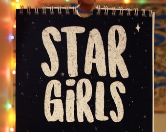 Star Girls Perpetual Zodiac Birthday Calendar