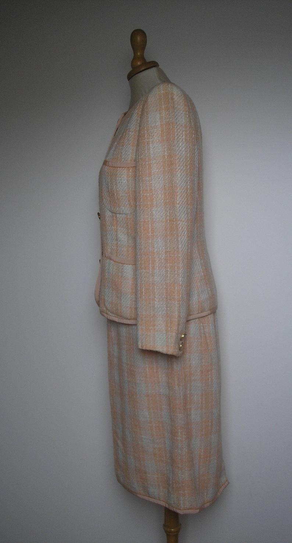 UNGARO Authentic Set suit  jacket and skirt .
