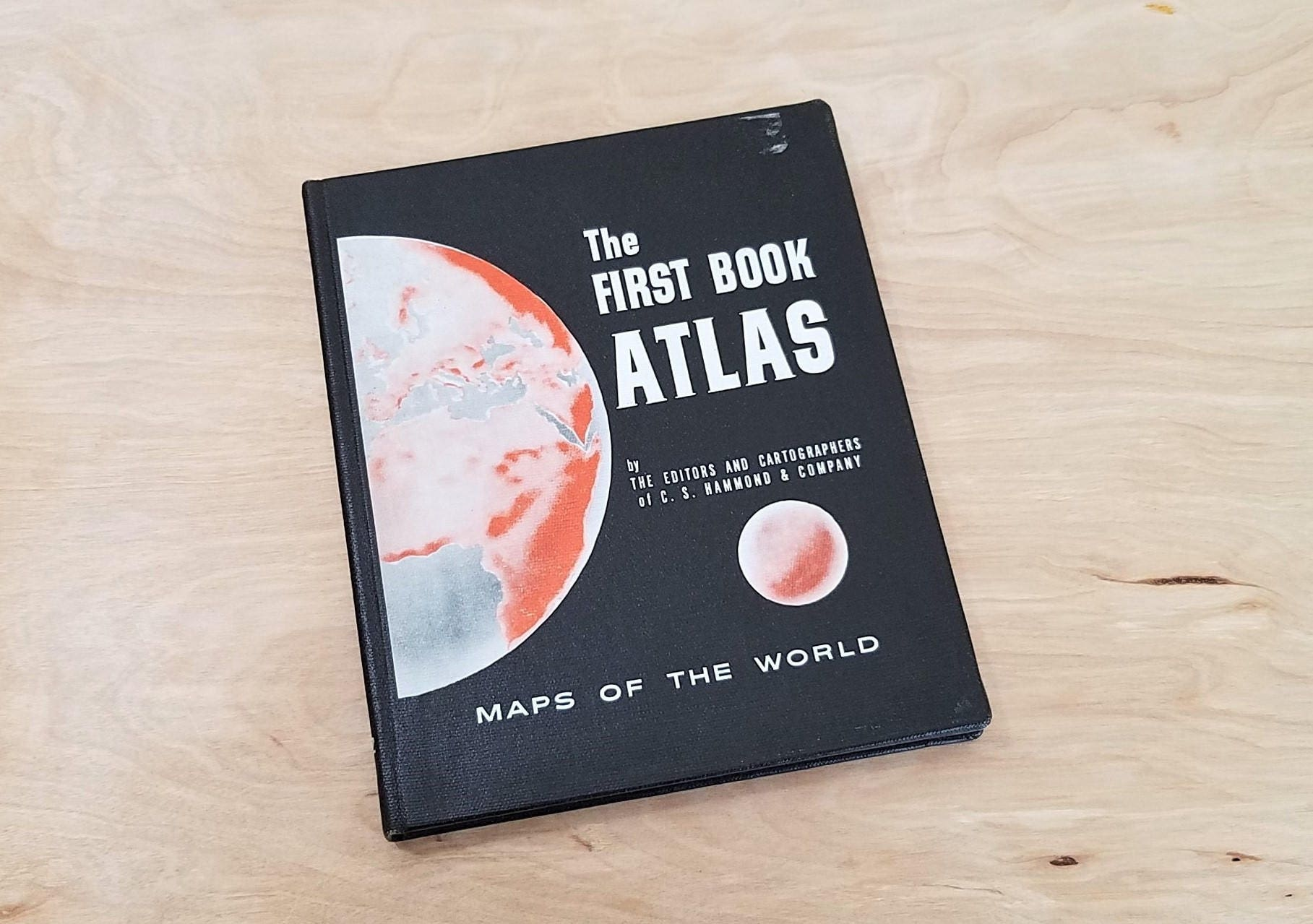 Atlas Map Book