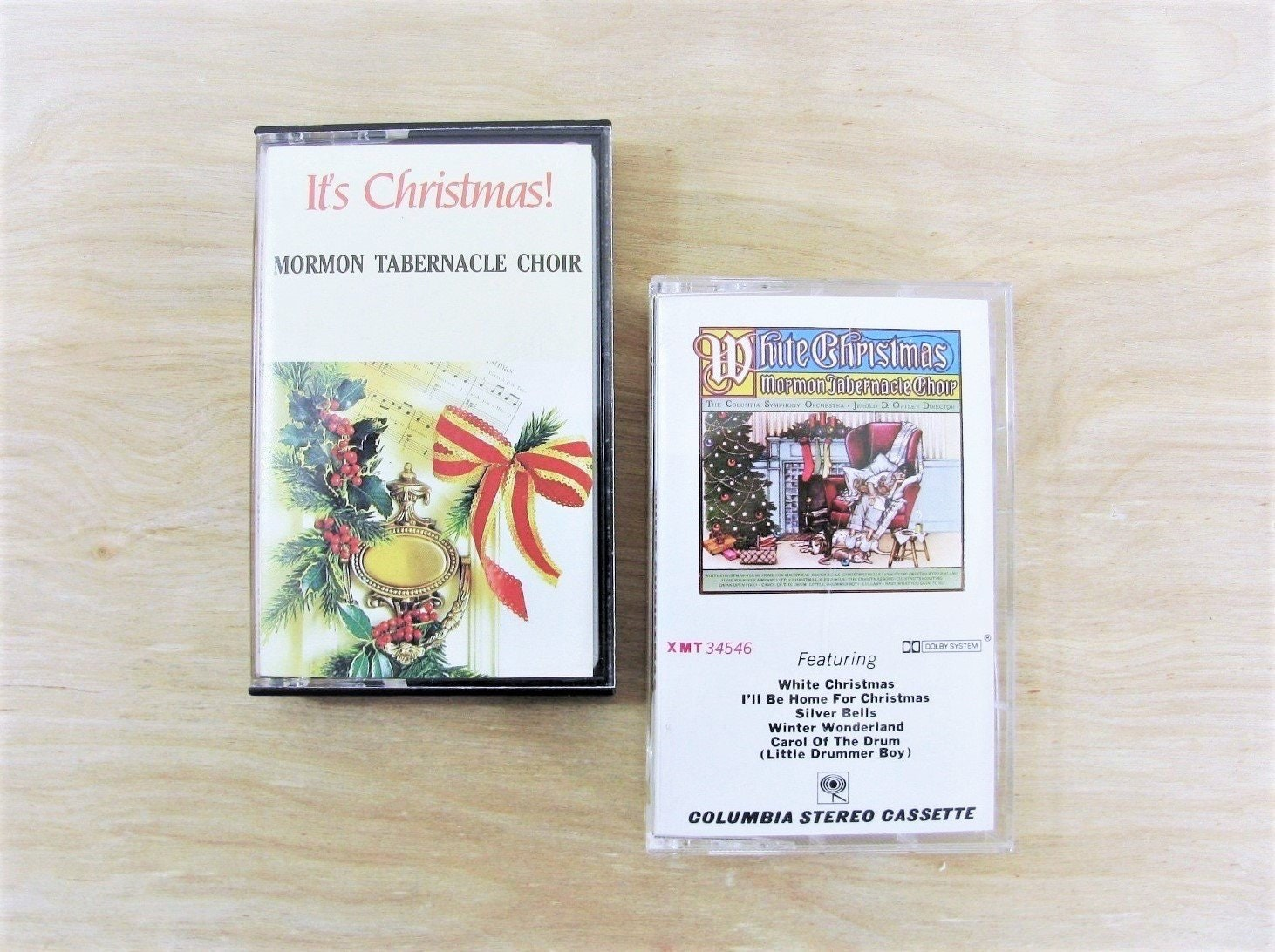 Vintage Christmas Cassette Tapes The Mormon Tabernacle Choir | Etsy