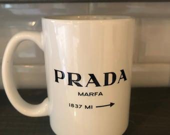Gossip Girl Marfa Coffee Mug - Marfa 1837 MI - Gossip Girl Marfa Art - Custom Coffee Mug