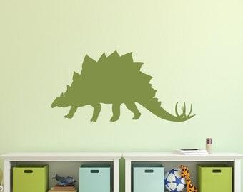 Sticker decal dinosaur dino jurassic wall children room kid decor styracosaurus