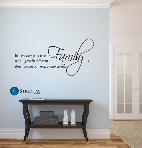 Brothers Family Quote Wall Sticker WS-17713
