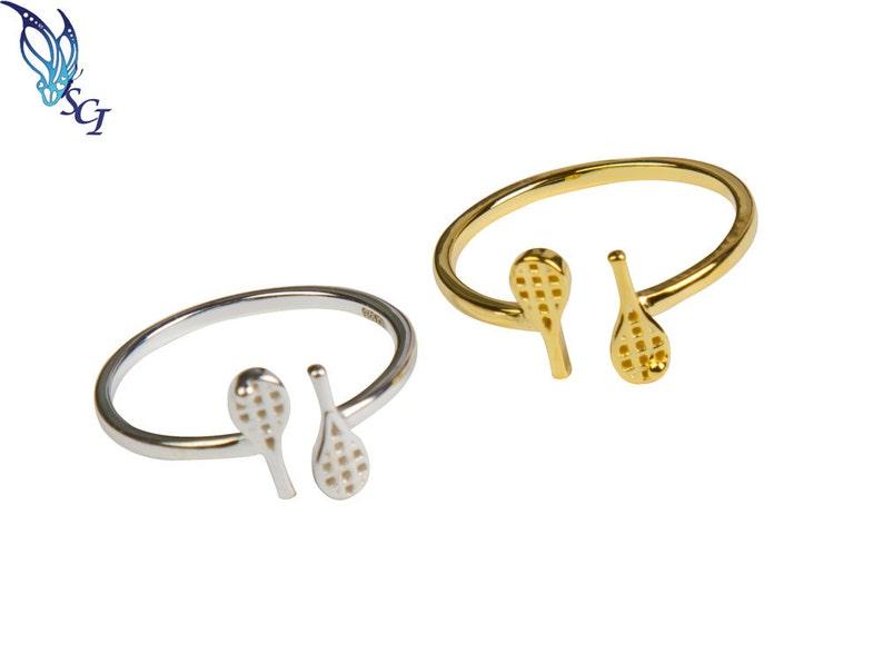SR251 Midi Ring Tennis Raquet Adjustable Ring Twin Tennis Racket Adjustable Midi Ring Adjustable Tennis Ring Double Tennis Racket Ring