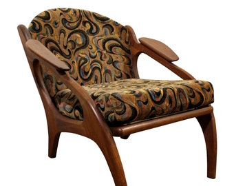 Mid-Century Lounge Chair by Adrian Pearsall Craft Associates  2249-C