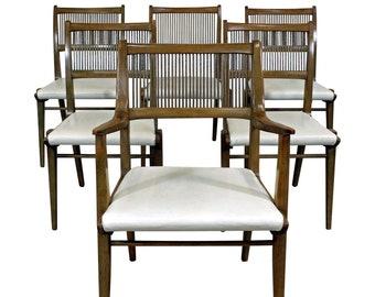 Mid-Century Modern Dining Chairs, John Van Koert for Drexel Profile, Modern Dining Chairs