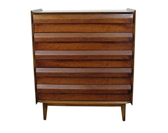 e8deb9b9609 Mid-Century Tall Chest by Lane First Edition