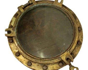 Porthole Antique Architectural Nautical Salvage Porthole