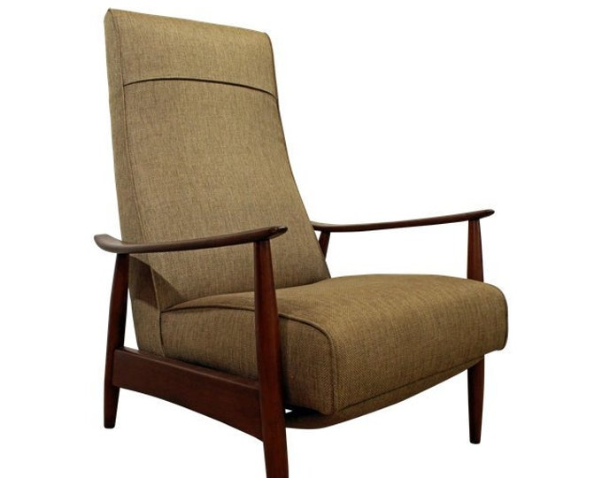 Mid-Century Recliner Lounge Chair by Milo Baughman Thayer Coggin