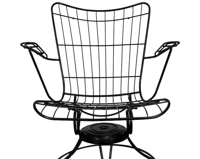 Mid-Century Modern Outdoor Lounge Chair by  Homecrest Bottemiller