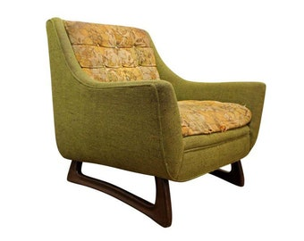 Mid-Century Danish Modern Adrian Pearsall Boomerang Leg Lounge Chair