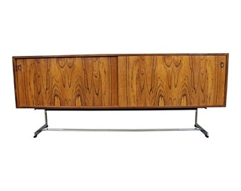 Mid-Century Modern Credenza by  Richard Young Merrow Assoc./ Rosewood and Chrome