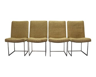 Mid-Century Dining Chairs by Milo Baughman Thayer Coggin