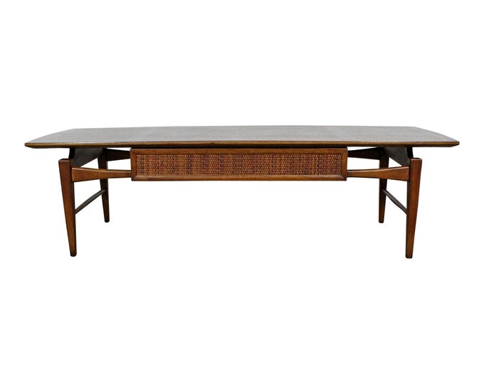 Lane 'Esteem' Coffee Table Mid-Century Modern Walnut Table