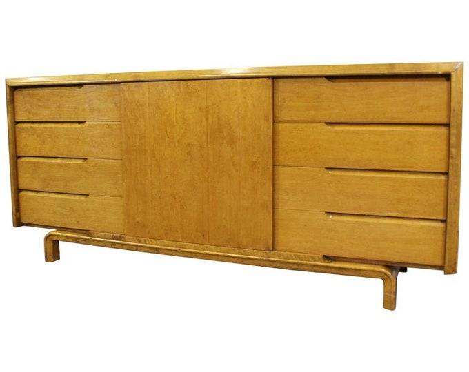 Edmond J. Spence Mid-Century Modern Scandinavian Credenza Dresser Vintage