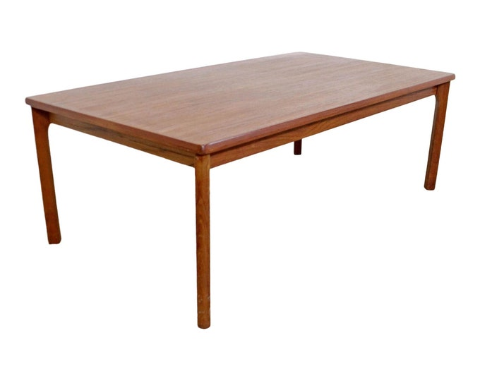 Domino Mobler Mid-Century Modern Danish Modern Teak Coffee Table
