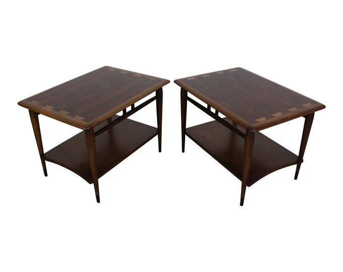 Mid-Century End Tables  Danish Modern by Andre Bus Lane Acclaim 900-05