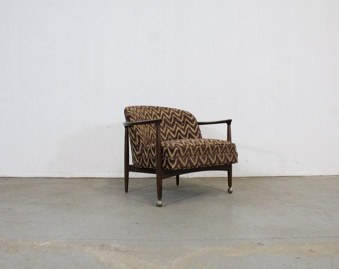 Mid-Century Danish Modern Selig Barrel Back Club Chair