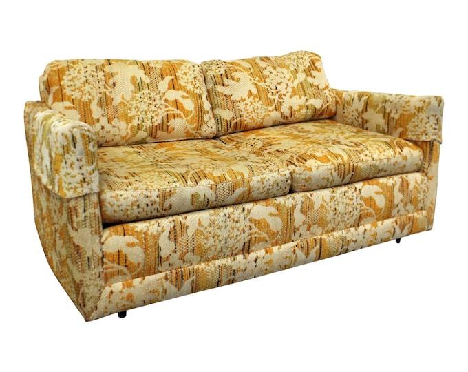 Mid-Century Modern Milo Baughman Forecast Sofa, Loveseat, Vintage Loveseat