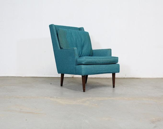 Mid-Century Modern Walnut Selig Style Lounge Chair