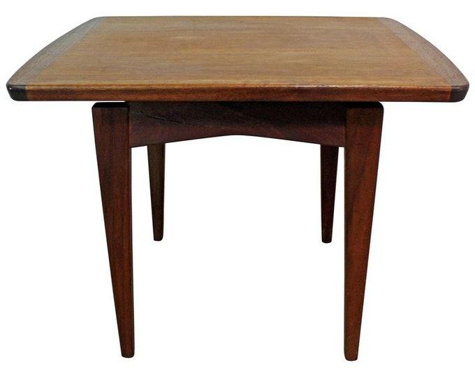 Mid-Century Danish Modern Jens Risom Teak End Table