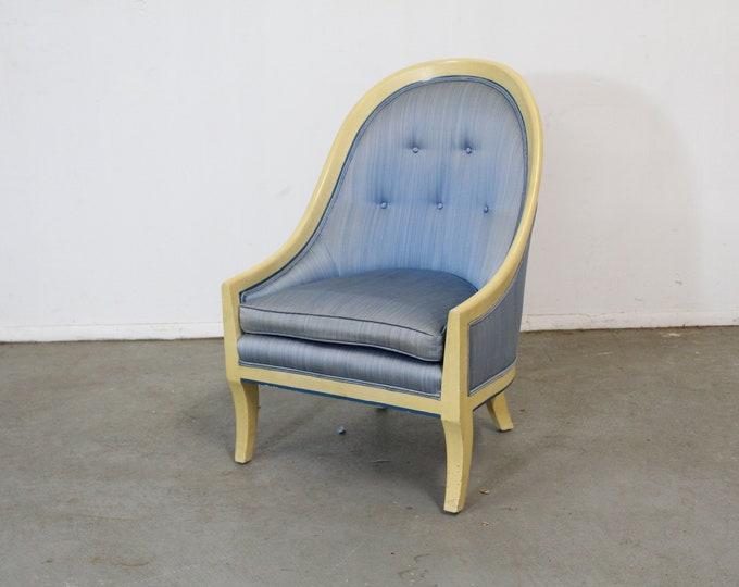 Mid Century Harvey Probber Style Boudoir Chair