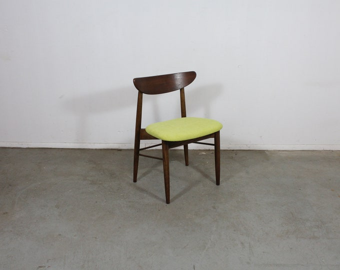Single Mid-Century Modern H Paul Browning Shell Back Dining Chair