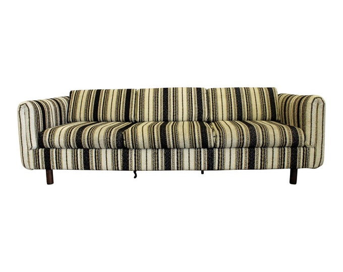 Mid-Century Sofa by Milo Baughman for Selig Vista Danish Modern Three-Seater