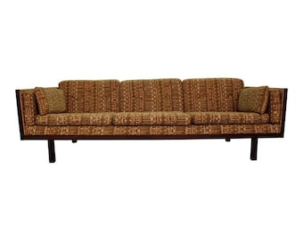Danish Modern Rosewood Case Sofa  by Jydsk Mobelvaerk