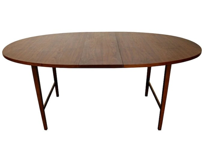 Paul McCobb Dining Table  Components Walnut Extendable