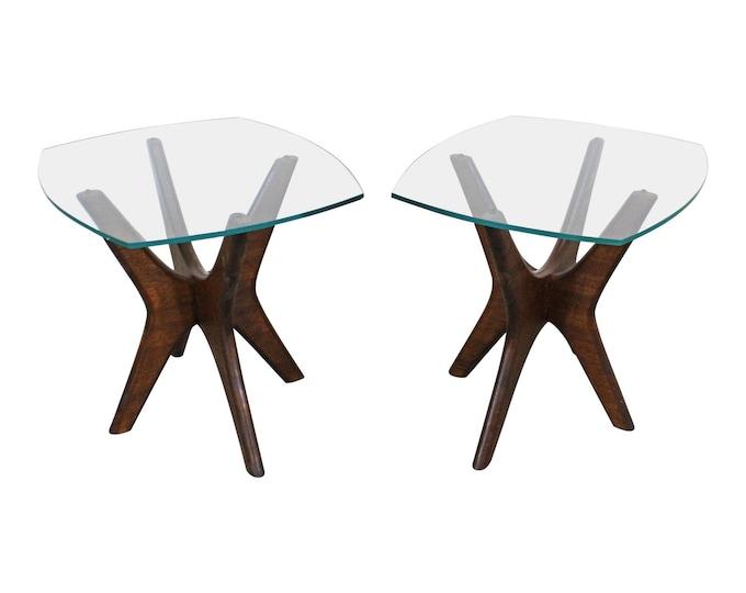 Adrian Pearsall Mid-Century Modern Jacks End Tables-PAIR