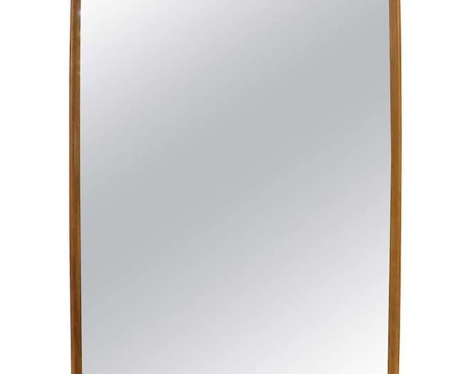 Mid-Century Modern Heywood Wakefield Champagne Mirror