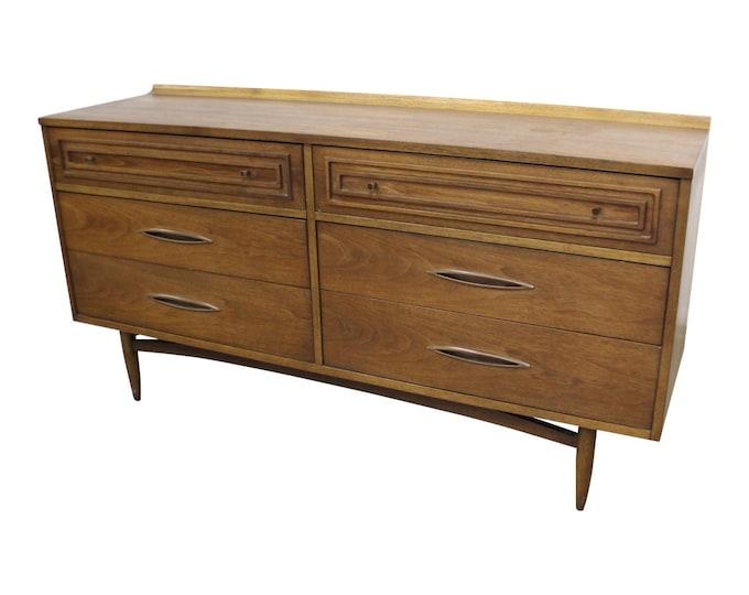 Mid-Century Modern Broyhill Premier Sculptra Credenza Dresser
