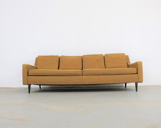 Mid-Century Modern Paul McCobb Style Sofa on Pencil Legs