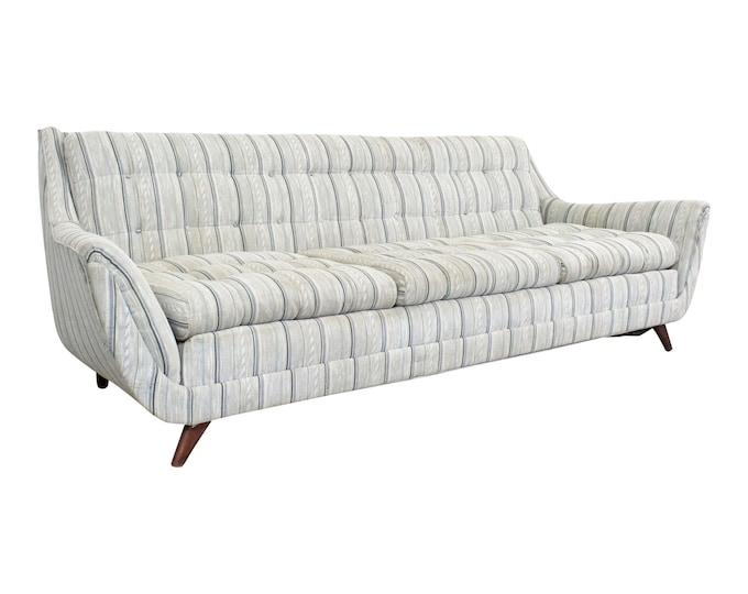 Vintage Mid-Century Modern Adrian Pearsall Style Bassett Prestige Sofa