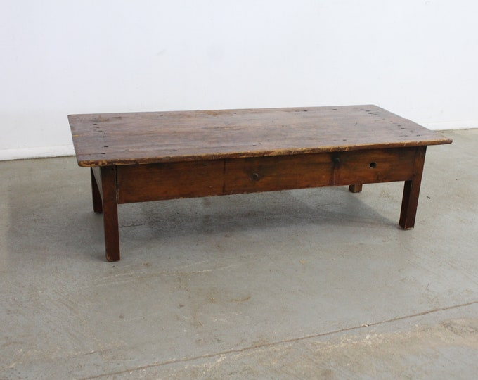 French Country Rustic Farm Table Circa 1800s