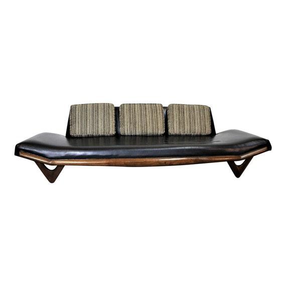 Fabulous Adrian Pearsall Sofa Gondola Sofa On Boomerang Legs Model 2303 Mid Century Modern Gamerscity Chair Design For Home Gamerscityorg