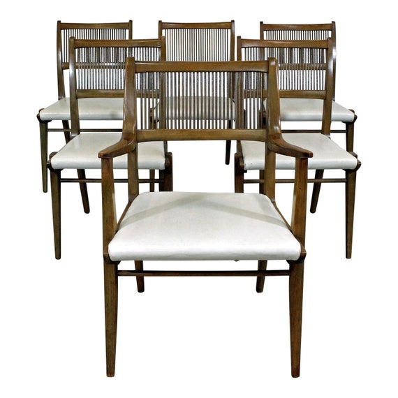 Astonishing Set Of 6 Mid Century Modern John Van Koert Drexel Profile Dining Chairs Dailytribune Chair Design For Home Dailytribuneorg