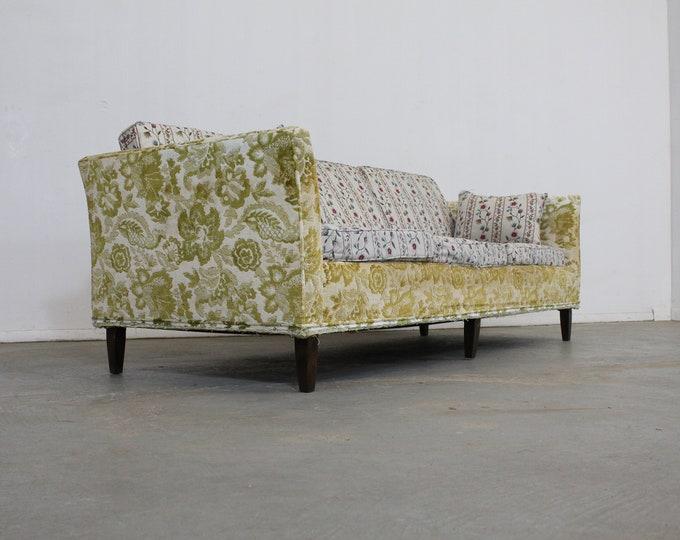 """Mid-Century Modern Milo Baughman Style Sofa 86"""""""